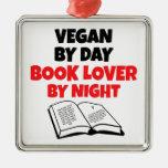 Book Lover Vegan Christmas Tree Ornament