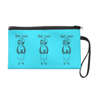 Book Lover Wristlet Purse
