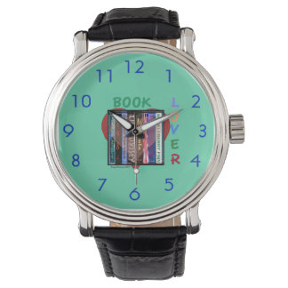 Book Lover Wristwatches