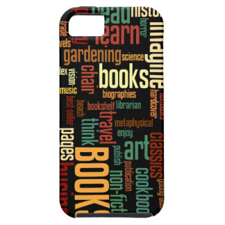 Book Lovers Autumn Colorful Text iPhone 5 Covers