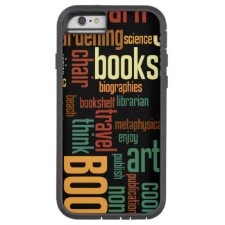 Book Lovers Autumn Colorful Text Tough Xtreme iPhone 6 Case