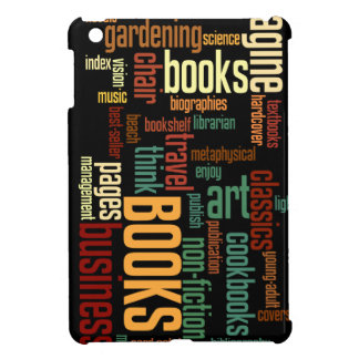 Book Lovers Autumn Colorful Text Case For The iPad Mini