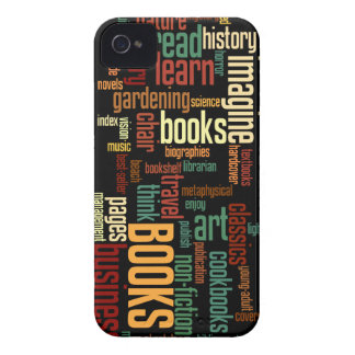 Book Lovers Autumn Colorful Text iPhone 4 Cover