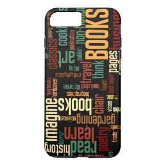 Book Lovers Autumn Colorful Text iPhone 8 Plus/7 Plus Case