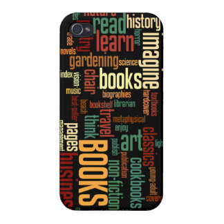Book Lovers Autumn Colorful Text Covers For iPhone 4