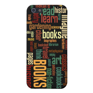 Book Lovers Autumn Colorful Text iPhone SE/5/5s Cover