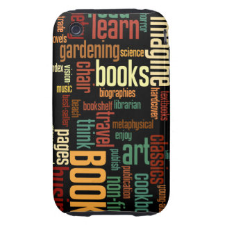 Book Lovers Autumn Colorful Text Tough iPhone 3 Case