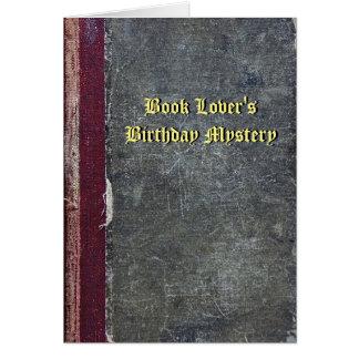 Book Lover's Birthday Mystery Card