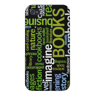 Book Lovers Black ®  iPhone 4/4S Cases