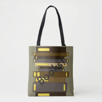Book Lovers Books Stack Totes