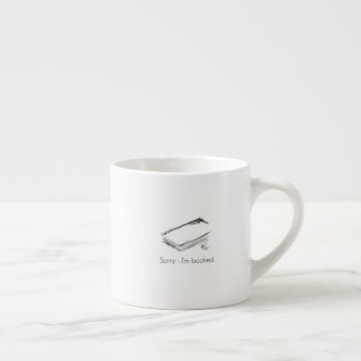 Book Lovers Espresso Mug