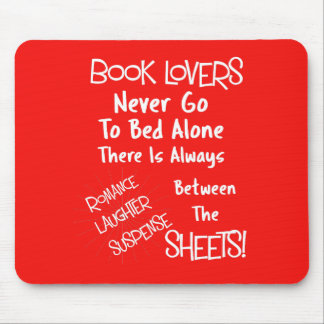Book Lovers Funny Text Quote Mouse Pad