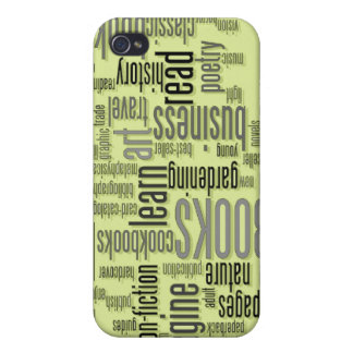 Book Lovers Green ®  Case For iPhone 4