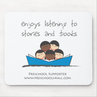 Book Lovers - Group Mouse Pad