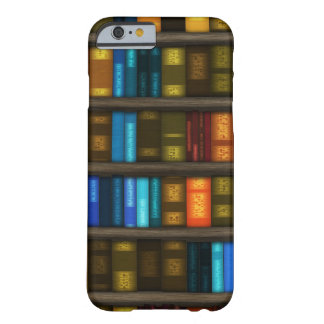Book Lovers & Librarians Colorful Books on Shelf Barely There iPhone 6 Case
