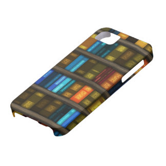 Book Lovers & Librarians Colorful Books on Shelf iPhone SE/5/5s Case