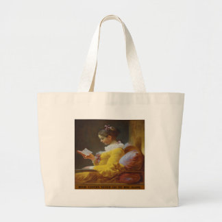 Book Lovers Never Go to Bed Alone - Bag