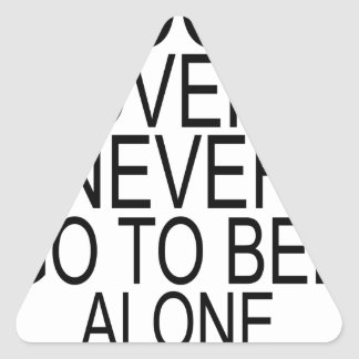 Book lovers never go to bed alone T-Shirts.png Triangle Sticker