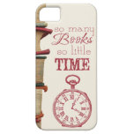 "Book Lovers phone case ""So many books"" iPhone 5 Case"