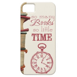 """Book Lovers phone case """"So many books"""" iPhone 5 Case"""