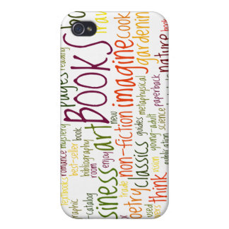 Book Lovers White ®  iPhone 4/4S Cover