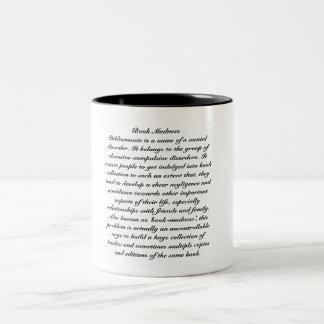 Book-Madness Two-Tone Coffee Mug