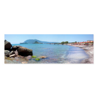 Book Mark - Greek Islands - Kos Island, Greece Business Card Templates