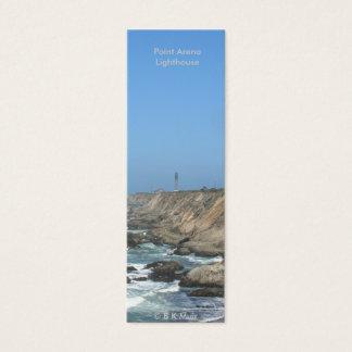 Book mark - Point Arena Lighthouse Mini Business Card