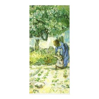 book mark, Vincent van Gogh, fine art, sunflower Custom Rack Cards
