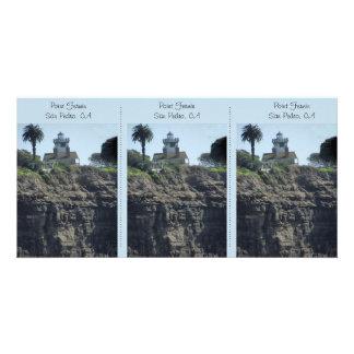Book marks - Point Fermin Lighthouse (3) Card