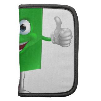 Book mascot education concept planner