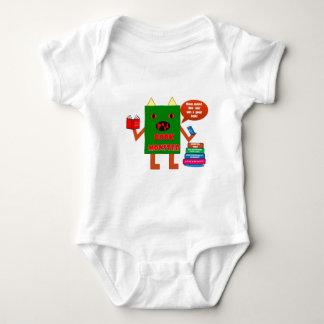 Book Monster Baby Bodysuit