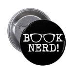 Book Nerd Button