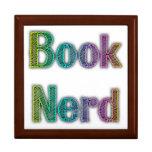 Book Nerd Colors Keepsake Box