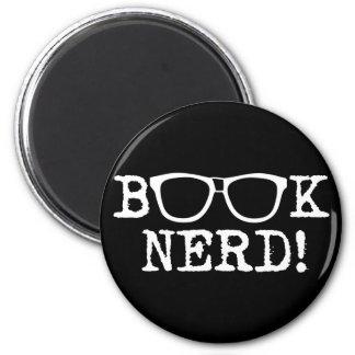 Book Nerd Fridge Magnet