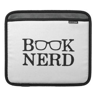 Book Nerd Nerdy Glasses Sleeve For iPads