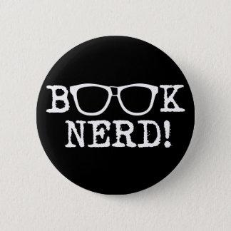 Book Nerd Pinback Button