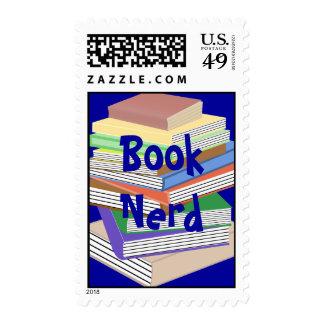 Book Nerd Stamp
