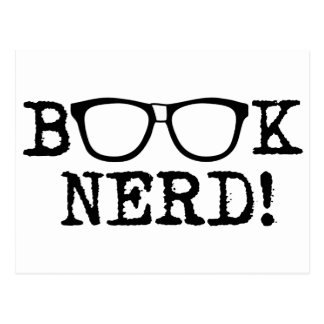 Book Nerd Postcards