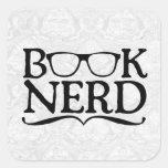 Book Nerd Stickers