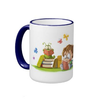 Book Nosing mug