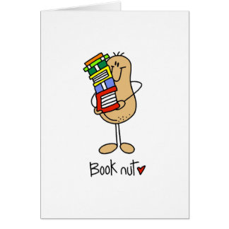 Book Nut T-shirts and Gifts Card