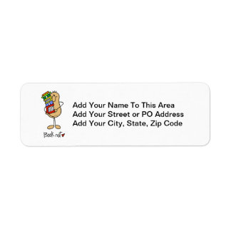 Book Nut T-shirts and Gifts Label