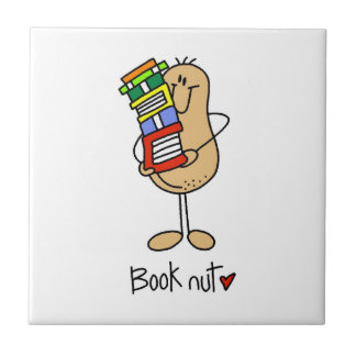 Book Nut T-shirts and Gifts Tile
