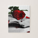 Book of Broken Hearts Jigsaw Puzzle
