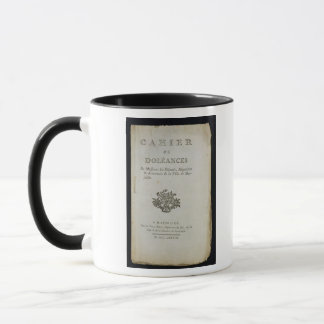 Book of Complaints' Mug