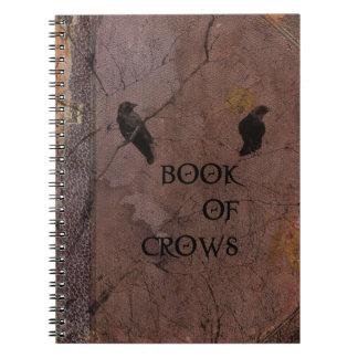 Book Of Crows Notebook