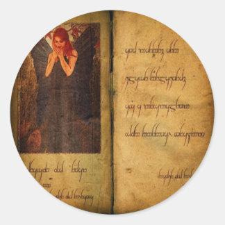 Book of Decay Classic Round Sticker