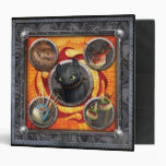 Book of Dragons 3 Ring Binders
