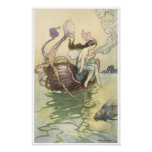 Book of Fairy Poetry, Nautilus is my Boat Print